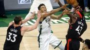 Milwaukee is opnieuw te sterk voor Toronto in tweede finaleduel Eastern Conference