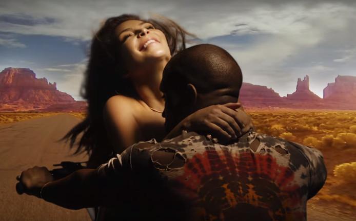 De versie van Kim en Kanye.
