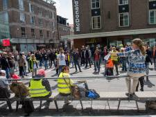 Demonstratie tegen de lockdown: 'Wij zijn het volk, wij willen terug naar het normaal'