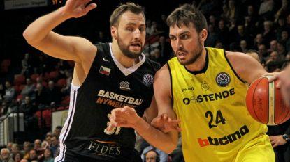 Oostende lijdt nederlaag tegen Nymburk in Champions League basketbal