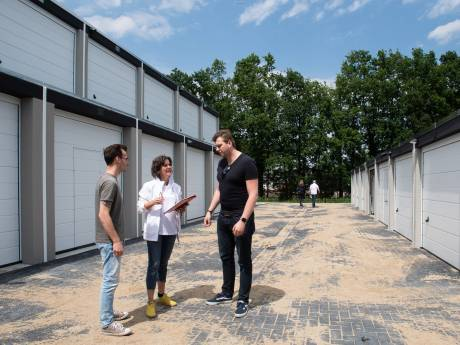 Een bedrijf runnen vanuit een hightech garagebox? 'Het werkt perfect'
