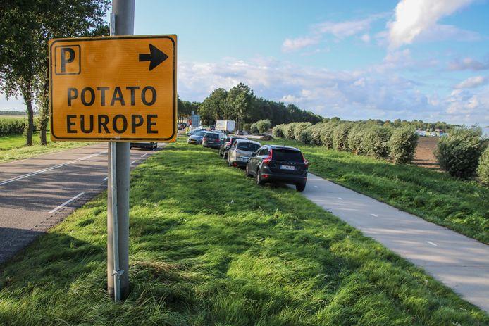 De eerste dag van Potota Europe viel door het slechte weer letterlijk in het water.