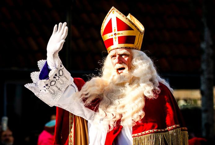 Sinterklaas in 2018 tijdens de intocht in Zaanstad, foto ter illustratie