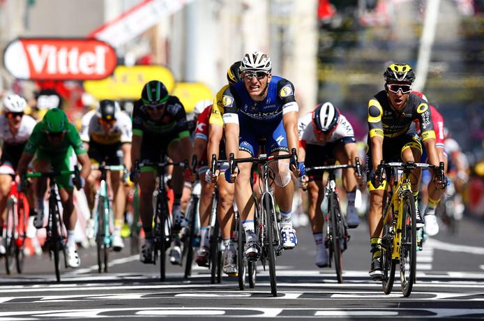 Marcel Kittel won de etappe