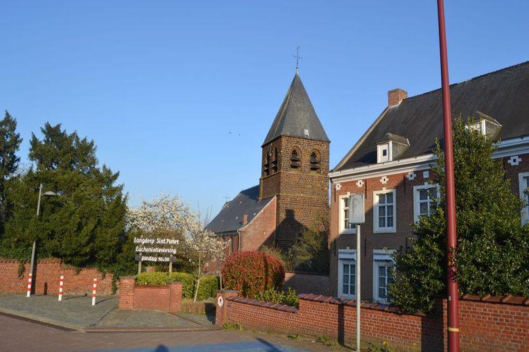 De kerk van Langdorp.