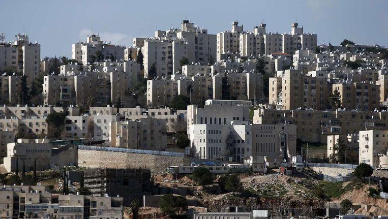 De Israëlische nederzetting Neve Yaakov in Jeruzalem Beeld afp