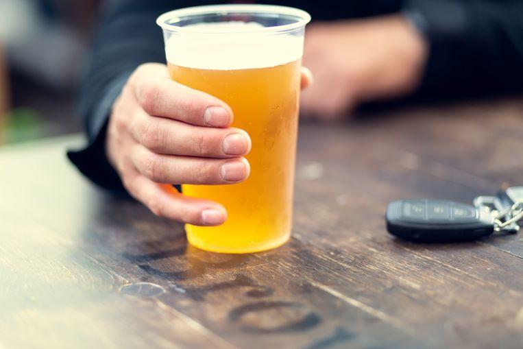 Illustratiebeeld - De bestuurder had 3,31 promille alcohol in zijn bloed na de Bierfeesten.
