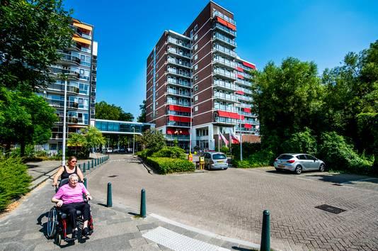 Laurens Blijdorp, het verpleeghuis waar de politie zaterdagavond heen moest.