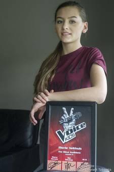 Merle uit Harbrinkhoek won bijna Voice Kids, maar blijft nu liever op de achtergrond