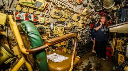 Zeebrugge neemt definitief afscheid van duikboot Foxtrot