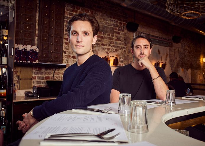 Rik Campbell (links) en Will Bowlby van het Londense restaurant Kricket.