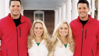 Identieke tweeling huwt identieke tweeling, samen natuurlijk