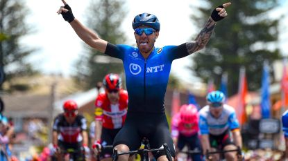 Geen Ewan of Bennett dit keer: Nizzolo pakt de zege in vijfde rit Tour Down Under, Impey leider