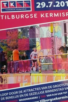 Kermisrun Tilburg: een oliebol onderweg, door de cakewalk en Popcentrum 013