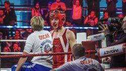 IN BEELD. Het gaat er opnieuw heftig aan toe tijdens 'Boxing Stars', ook bloedneus voor Oscar Willems