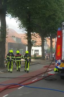 Hond overleden bij brand in woning Zwarteweg Milsbeek