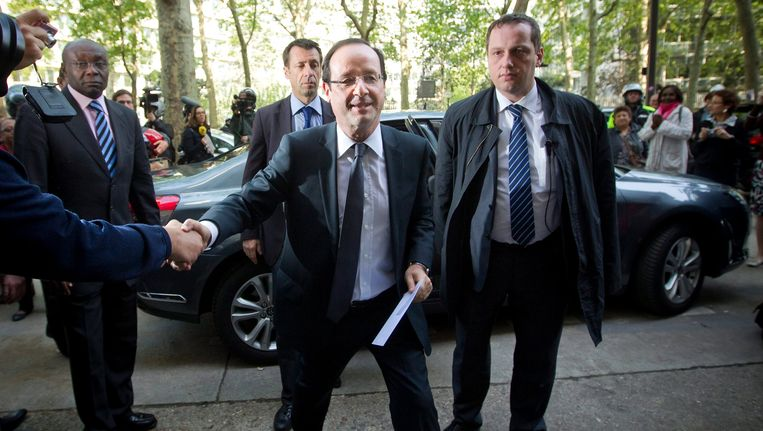 François Hollande. Beeld EPA