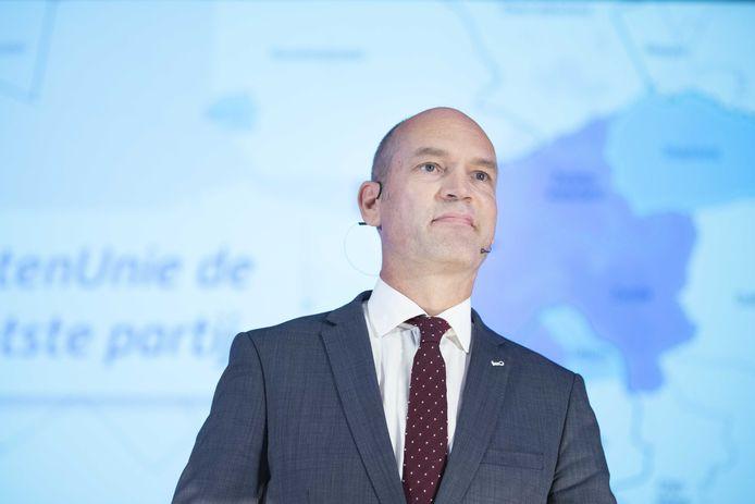 Partijleider en fractievoorzitter Gert-Jan Segers (ChristenUnie)