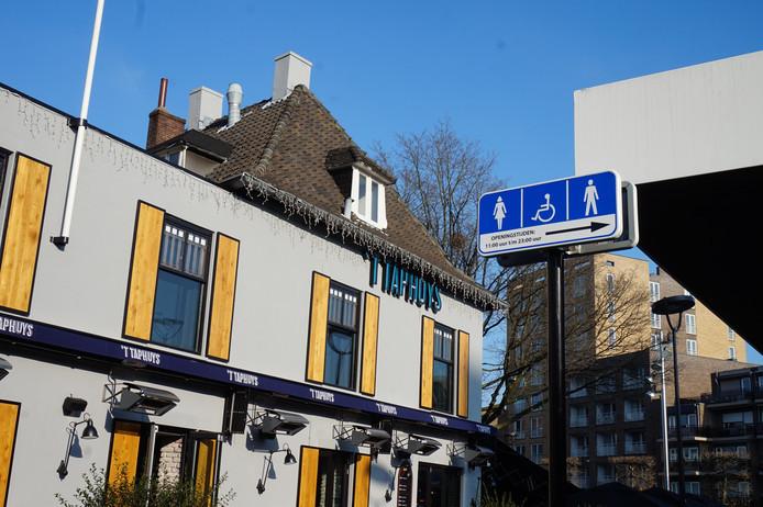 Openbare toiletten in Tilburg.