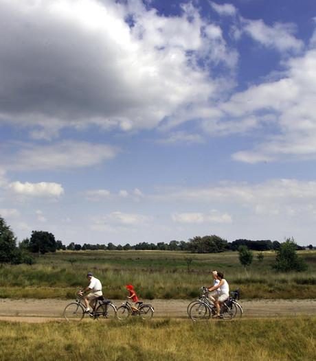 Reparatie fietspad Strabrechtse, Lieropse en Somerense Heide