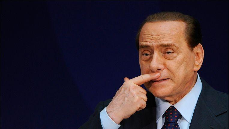 Berlusconi. Beeld Photo News