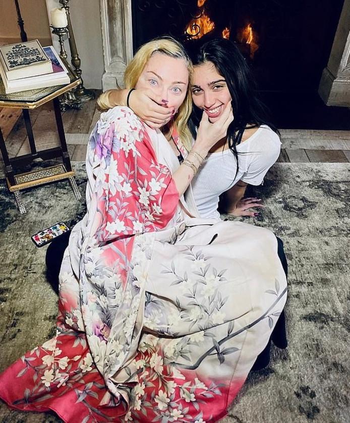 Madonna et sa fille Lourdes Leon.