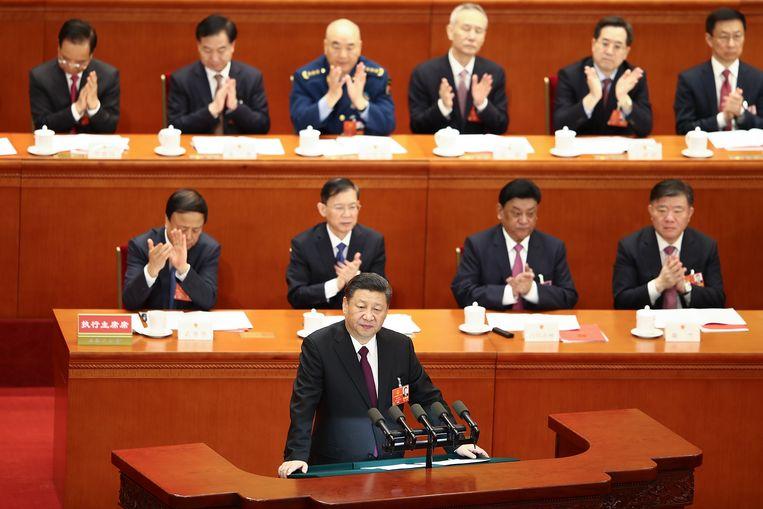 Xi Jinping eiste tijdens het slot van het Volkscongres gehoorzaamheid van het Chinese volk.