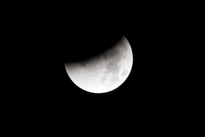In januari 2019 was de laatste maansverduistering te zien in ons land