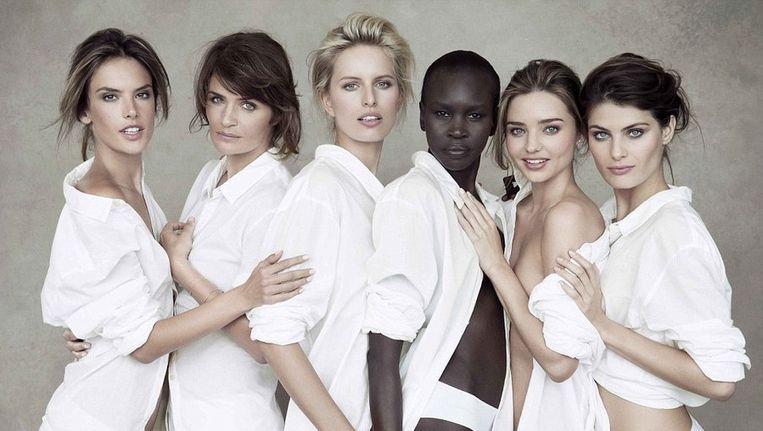 Ongekend Topmodellen vieren 50ste verjaardag Pirellikalender | Style | Nina DM-19