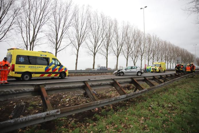Ongeval A20 tussen Nieuwerkerk en Moordrecht