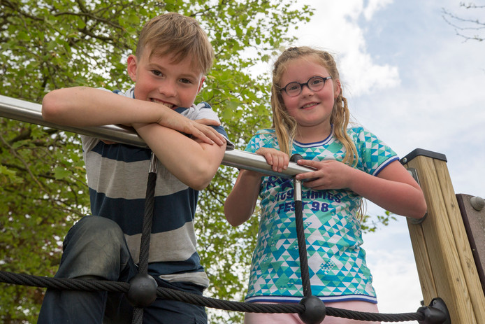 Cas Simonse en zijn zus Indy