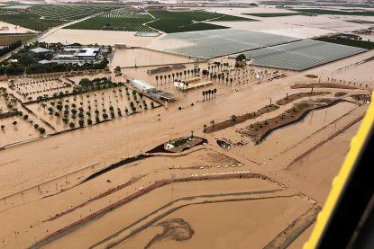 Zesde dode door overstromingen Spanje, premier Sanchez bezoekt rampgebied