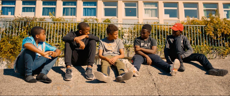 Jongeren uit de banlieue in Les misérables. Beeld