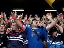 Hoffenheim-fan poetst tanden op Anfield