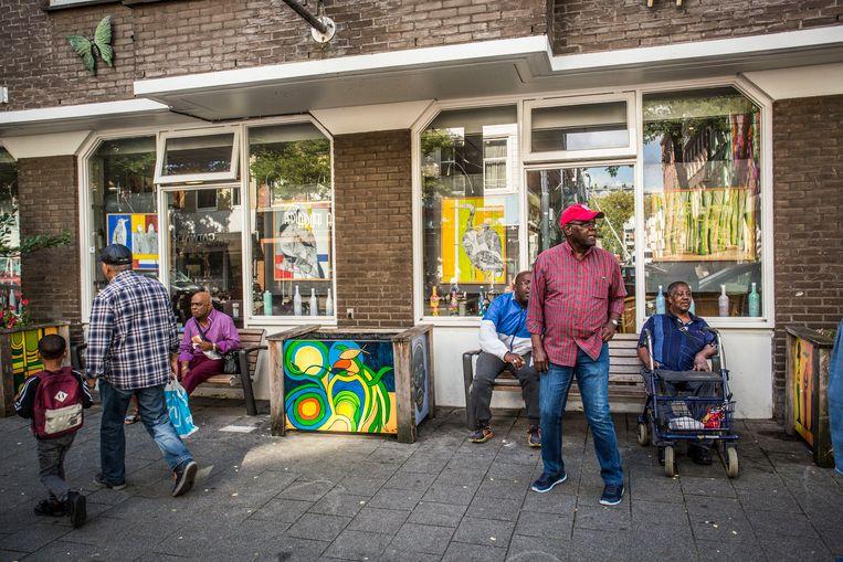 Het Rotterdamse verpleeghuis De Leeuwenhoek van Humanitas. Beeld Foto Arie Kievit