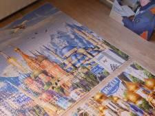 Eén man, 42.000 puzzelstukjes: Luuk maakt de één-na-grootste puzzel ter wereld
