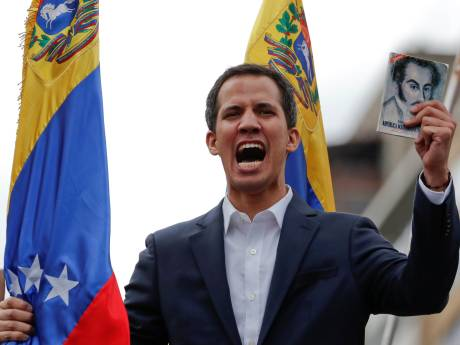 VS en Canada steunen plotse 'machtsgreep' Venezuela