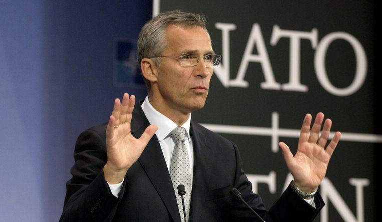 NAVO-secretaris-generaal Jens Stoltenberg.