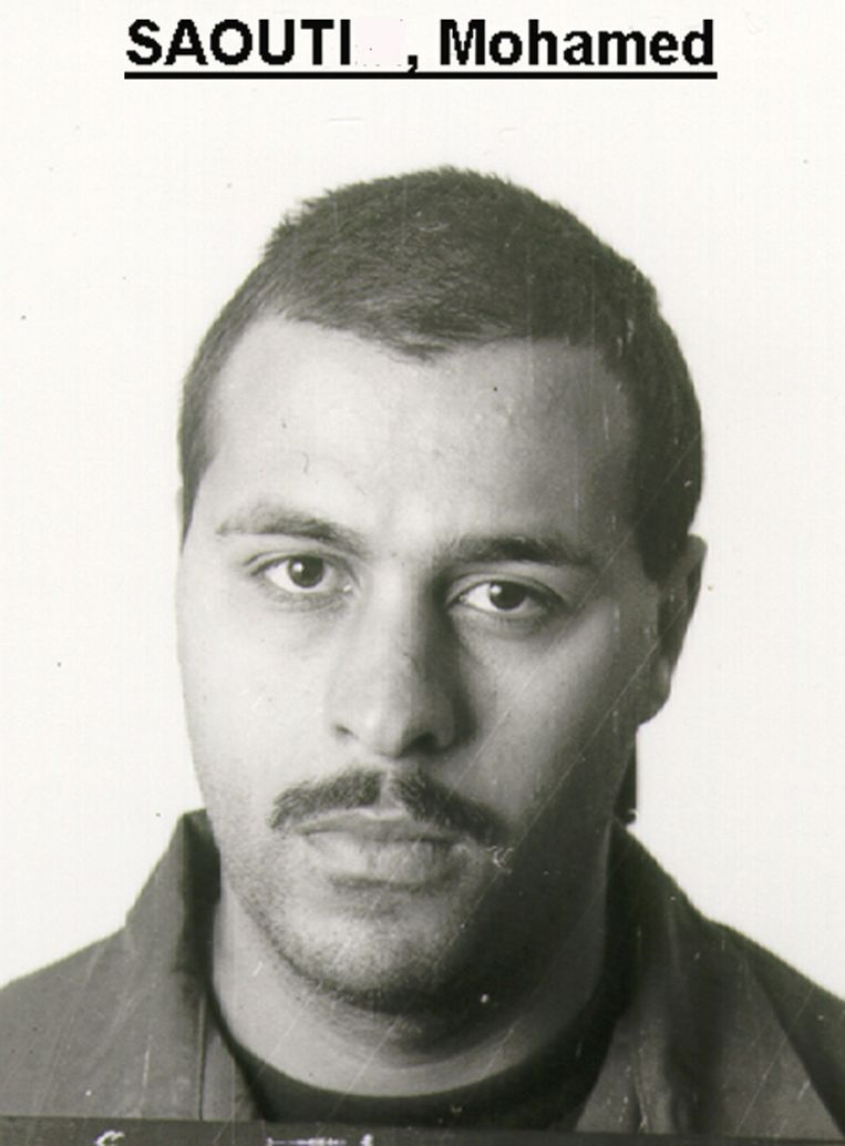 Gangster Mohamed Saouti.