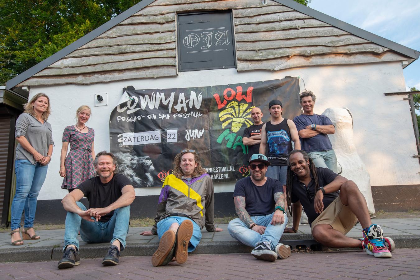 Organisatoren Lowman Reggeafestival in Aarle Rixtel