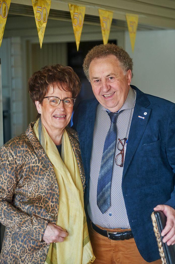 In 2018 vierden Bert en Thea Raaijmakers hun gouden huwelijk.