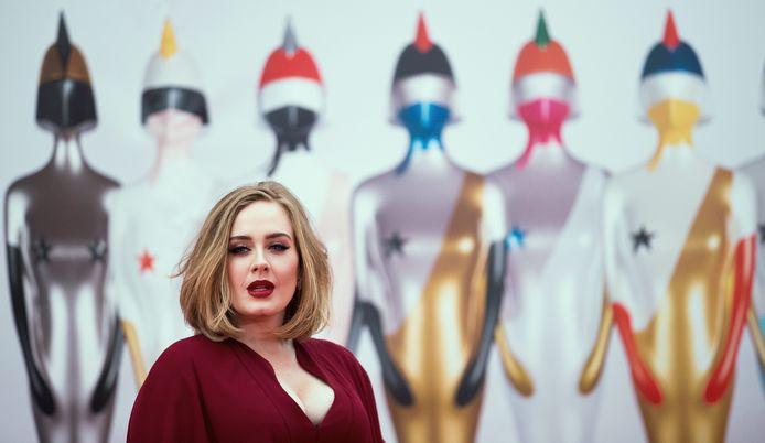 Adele en février 2016.