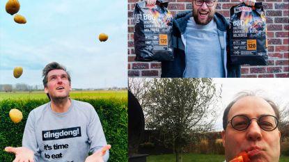 Oproep in Lievegem: shop lokaal, organiseer zondag thuis een barbecue, en zet om 15 uur 'Leef' van André Hazes keihard op