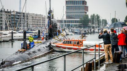 Definitief afscheid van Zeebrugse onderzeeër