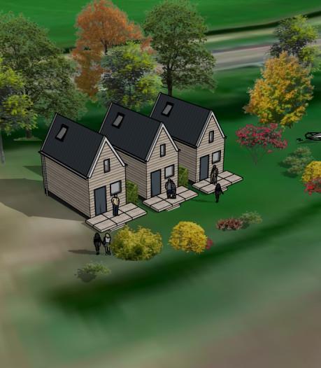 Drie tiny houses in Terheijden: 'Dit is echt pas het begin'