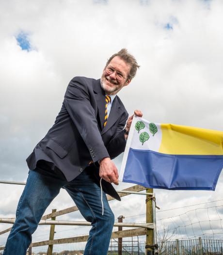 Henk Kemp droomt 'stapje voor stapje' van een wapperende gemeentevlag voor Oldebroek