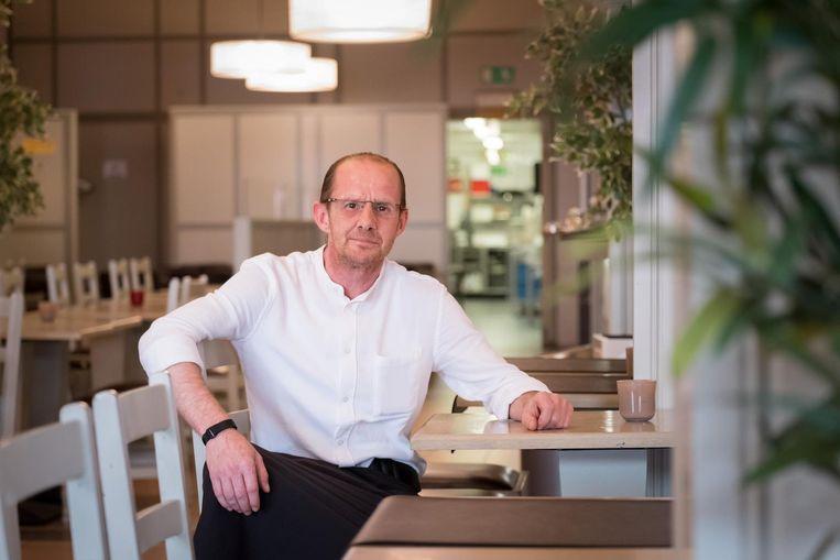Kelner Pascal Bergen van De Met zag zijn klanten ge-evacueerd worden.