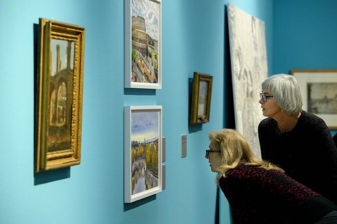 De tentoonstelling over Caspar van Wittel trok veel aandacht in binnen- en buitenland.