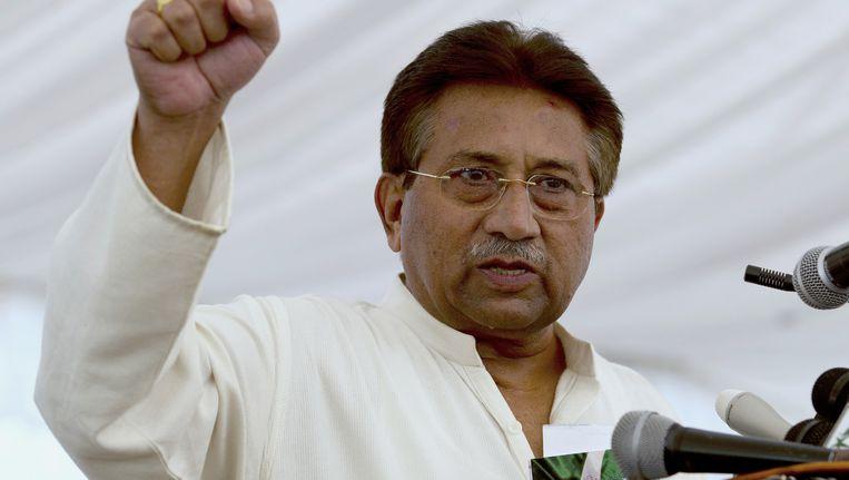 Ex-president van Pakistan, Pervez Musharraf. Beeld ap