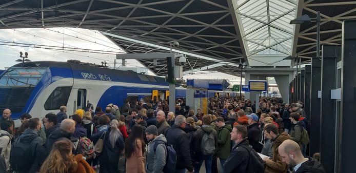 Het is druk in Tilburg.